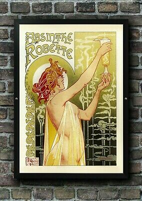 Vintage Absinthe Robette Art Deco Advertising Poster Print Picture A3 A4 A5