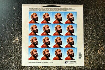 2019USA #5371 Forever - Marvin Gaye - Sheet of 16 Stamps  Mint  music