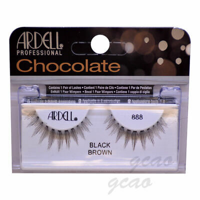 2d14644db23 ARDELL CHOCOLATE STRIP Lashes 888 Black/Brown (Pack of 4) - $13.98 ...