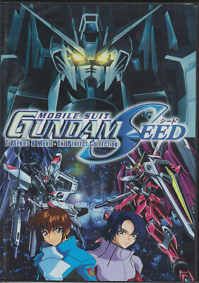 Mobile Suit Gundam Seed Complete Collection | Episodes 1-50 + 2 Movies (DVD)