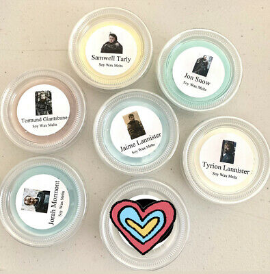 Game of Thrones Male Characters Soy Wax Melts Sniff Test Guessing Game