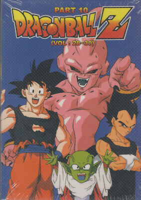 Dragon Ball Z Part 10 DVD Set | Rare | OOP | Episodes 251-276 | MAC Vol 28-30