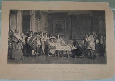 Rare Antique French Barbizon School Photogravure