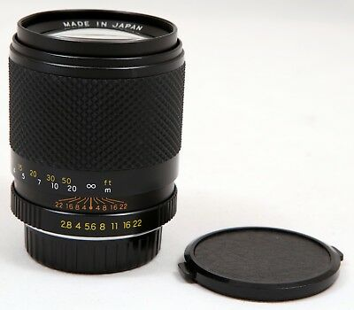 Yashica DSB 135mm f/2.8 Portrait Lens for Contax/Yashica 35mm Film SLR Cameras