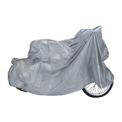 Motorcycle Waterproof Raincoat Rain Cover Dust Proof Protector Bicycle Scooter