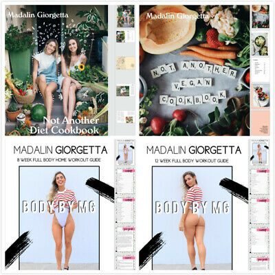 💓 Body by MG 💓 GYM + HOME + Cookbooks BUNDLE 💓