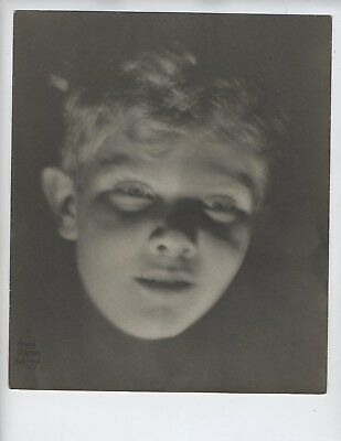 LEON JANNEY Child Actor Our Gang 1920's Leon Janney  RARE Young Portrait Photo h