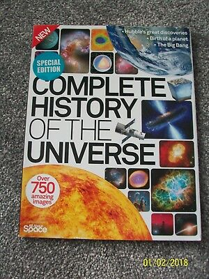 COMPLETE HISTORY OF THE UNIVERSE SECOND REVISED EDITION New Bookazine Magazine