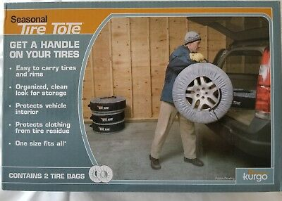 50f7f577953 Kurgo Seasonal Tire Tote and Tire Protection Cover - Pack of 2 Tire Bags