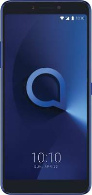 "New Alcatel 3V Unlocked Dual SIM-3GB RAM-32GB ROM-6"" Full HD+ Display-Blue"
