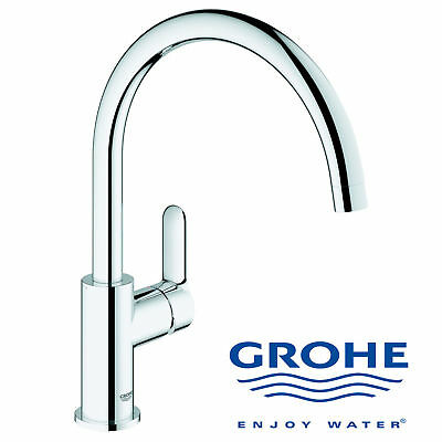 Mitigeur Grohe Bauedge Ref 31367000 Neuf Evier Cuisine Robinet