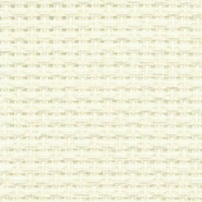 16 count Antique White, White and Ecru  Aida Col no 712 from DMC-Assorted Sizes