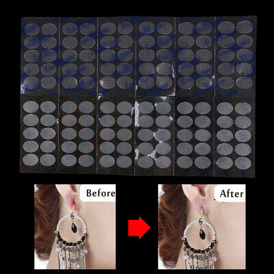 60Pcs EarLift Earwonder Ear Lobe Support Protector Earring' Back Stretched Tool
