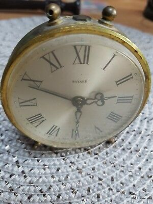 Antique  Bayard Alarm Clock Art Deco