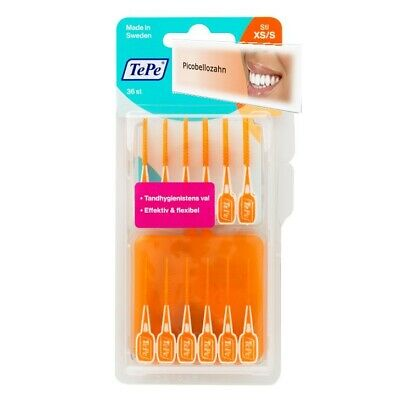 TePe Easy Pick Interdentalbürsten XS/S orange a 36 Stück