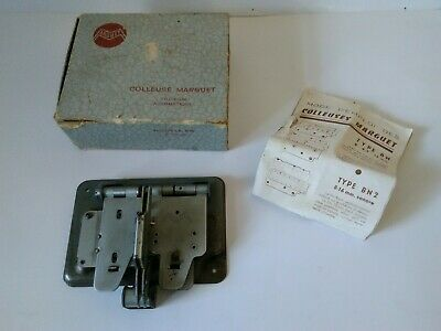 Arguet 8mm Cine Film Splicer Colleuse Marguet Tri-Film Automatique Cutter Boxed