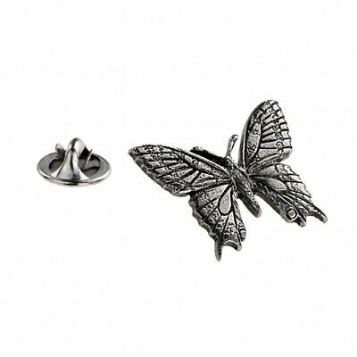 Silver Tie Tacks Pins Clutch Back lapel Pin Butterfly Pinch Accessory HD084