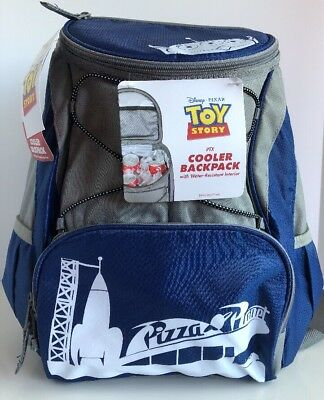 33bb2dc42ea Disney Pixar Toy Story Pizza Planet Insulated Backpack Cooler Picnic Time  NWT