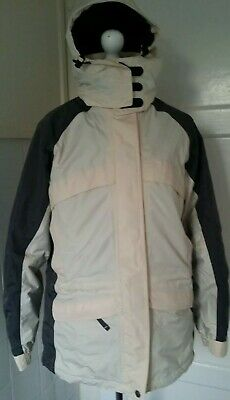 M&S Cream Mix Summer Rain coat Winter Jacket with Detachable Fleece & Hoody 8-10