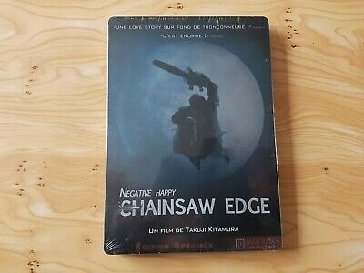 Dvd Négative Happy Chainsaw Edge Édition Steelbook Neuf Sous Blister
