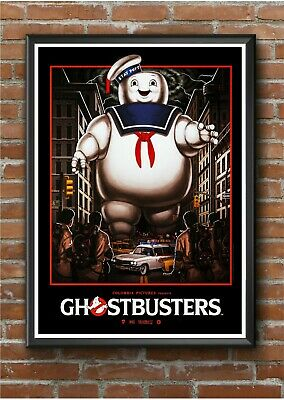 Ghostbusters Classic 1980's Movie Film Poster Print Picture A3 A4 A5