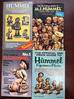 Book Lot Hummel Figurines & Plate Price Guide