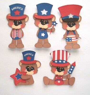 3D U Pick New05 Puppy Dog Cat Kitten Title Card Scrapbook Embellishment