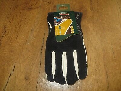 3ea7a234c Town and Country Premium Gardening Gloves Leather & Suede Garden Large ...