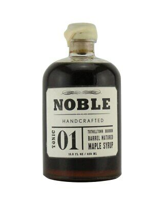 Noble Handcrafted Bourbon Matured Maple Syrup 450ml