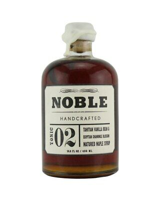 Noble Handcrafted Tahitian Vanilla Maple Syrup 450ml