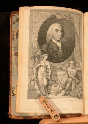 1794 8vol The History of England Tobias Smollett David Hume Illustrated Bromley