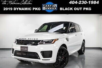 2019 Land Rover Range Rover Sport  2019 Land Rover Range Rover Sport Supercharged Dynamic With Black out Pkg