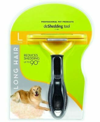 New FURminator Undercoat deShedding Tool for Large Dog 51-90 lbs with Long Hair