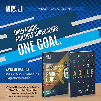 📚PMI PMBOK Guide 6th Edition + AGILE Practice Guide { PDF EPUB MOBI KINDLE }