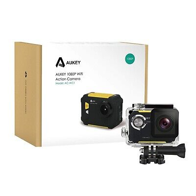 Action Camera Full HD 1080P AUKEY AC-WC1 Videocamera Sport WiFi impermeabile 60m