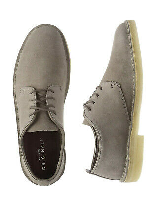 173be66dd3 Clarks Originals Desert London Grey Suede Schnürschuhe grau UK 9 EU 43 NEU