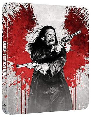 Dead in Tombstone Steelbook (Blu-ray) NEW SEALED BUT DAMAGE TO BOX Mick Rourke