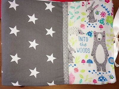 Handmade Baby Health Record Book Cover (for the Red NHS Book)