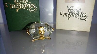 Swarovski Memories Moments Schatztruhe Treasure Chest 168678 Ap 1996 Ovp