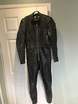 VINTAGE 60's LEWIS LEATHERS MOTORCYCLE SUIT SIZE 38