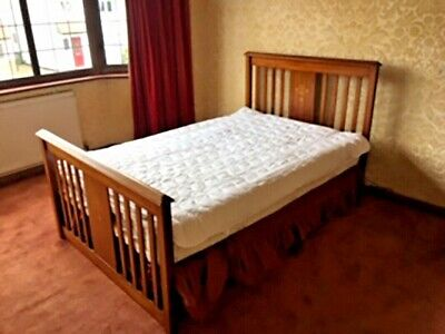 Antique Small Double Bed Frame