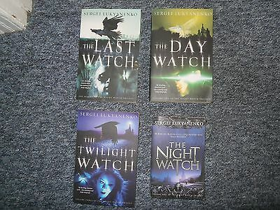 Sergei Lukyanenko Night Watch Collection 4 Books bundle