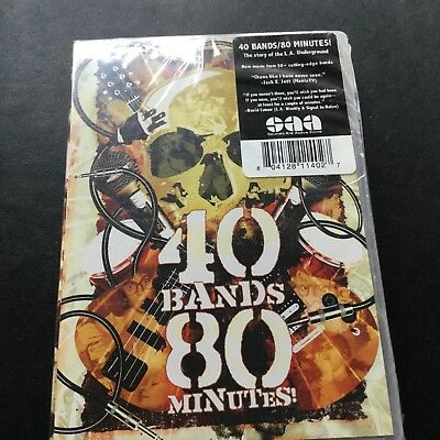 40 BANDS 80 MINUTES - L.A. Music Scene DVD new and sealed