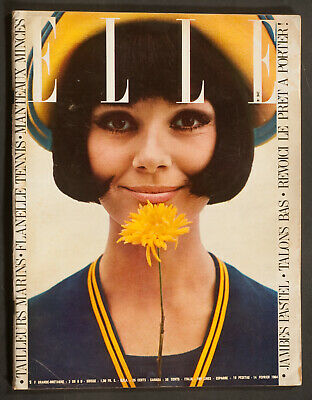 'elle' French Vintage Magazine Pret A Porter Issue 14 February 1964