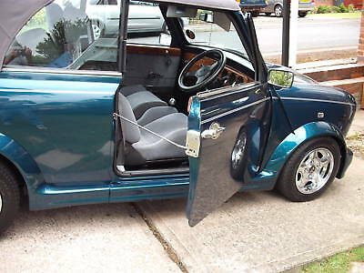 Classic Mini Door Stays one pair in Stainless Ideal Concours Car show car