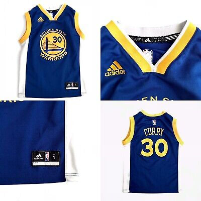 premium selection bb3e4 d3841 STEPHEN CURRY GOLDEN State Warriors youth S small Adidas ...