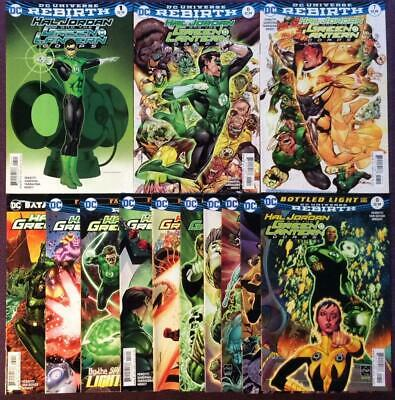 Hal Jordan and the Green Lantern Corp Job lot (DC 2016) 13 x high grade issues
