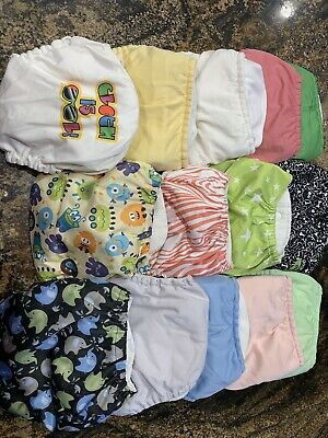 20 cloth diapers With 34 Inserts lot