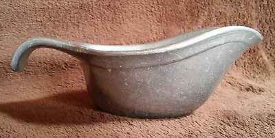 VTG 1978 COUNTRY WARE 177 pewter GRAVY BOAT Wilton Columbia PA USA Sauces Salad