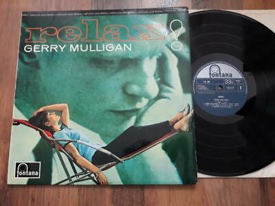 GERRY MULLIGAN Relax! LP Fontana FJL 105 UK 1964  EX/EX